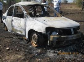 Vozilo u kome je poginuo