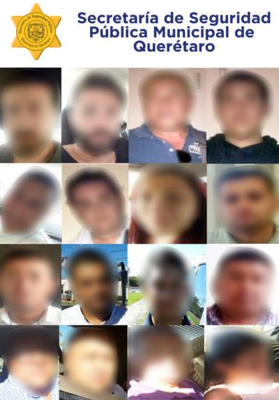 42 extranjeros detenidos en la capital queretana por cometer hechos ilicitos