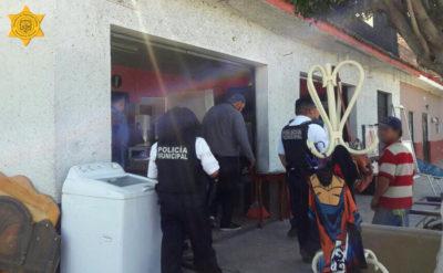 Realizan operativo en bazares de Lomas de Casa Blanca y Reforma Agraria