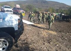 Después de 24 horas, se logró sofocar incendio en el municipio de San Juan del Río
