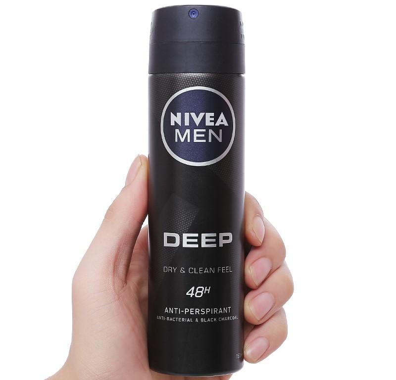 Xịt khử mùi Nivea có tốt không
