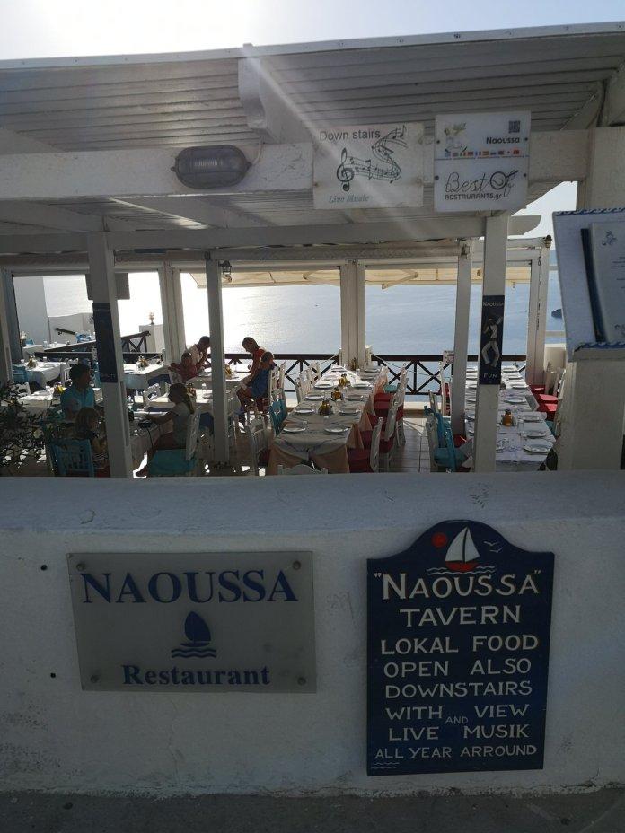 Naoussa Taverna Fira