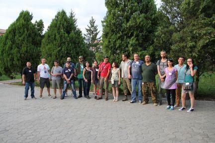 Participantii la curs (via FB MAPN)