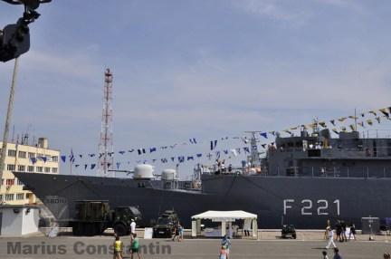 """Fregata F-221 """"Regele Ferdinand"""" - Ziua Porţilor Deschise 2014"""