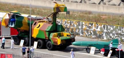 Instalatie Mobila de Lansare a rachetei antinava Styx
