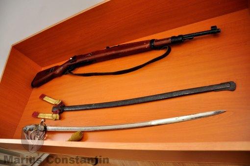 Mauser kar 98 si sabie de ofiter md. 1872