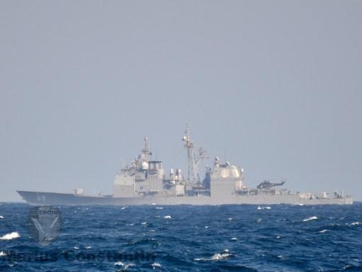 Puma Naval & USS Vicksburg