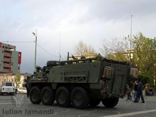 Stryker M1129 Mortar Carrier