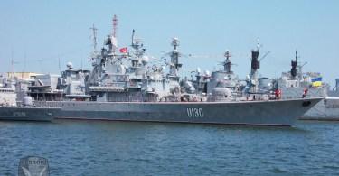 Fregata ucraineana Hatman Sagadaichny - U130 - SEA SHIELD 2015