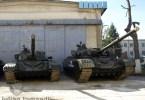 Tancurile T-72 si TR-125 prototipul numarul 3