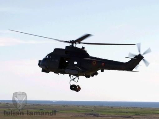Elicopter Puma NAVAL, Capu Midia, exerciţiul ROUSOFEX 2015