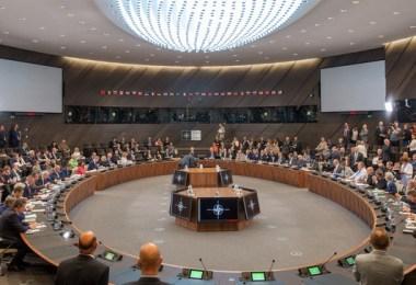 Reuniunea miniștrilor apărării din țările membre ale NATO