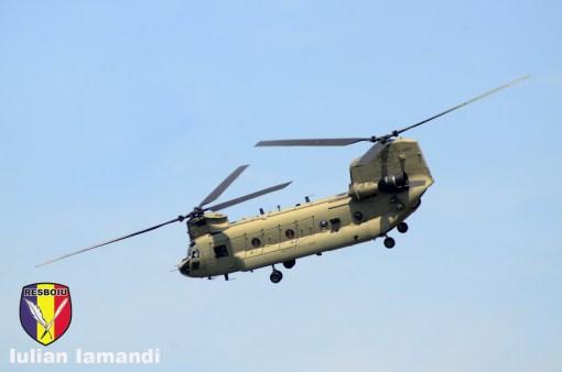 CH-47 Chinook, Saber Guardian 2019 - Bordusani