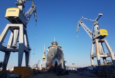 OPV construit la Damen Galati pentru Marina Pakistanului