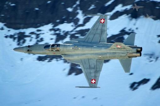 F-5 Tiger, Axalp 2011
