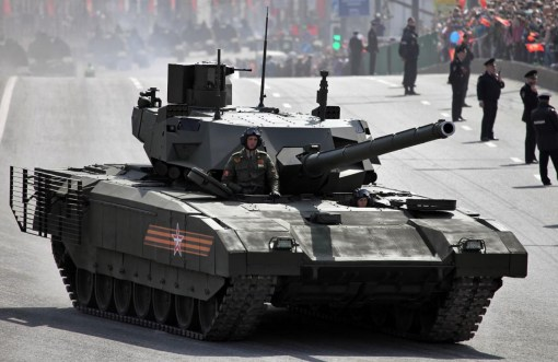 Tancul T-14 Armata