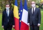 Ludovic Orba la intalnirea cu premierul Frantei, Jean Castex