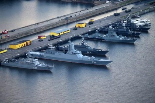 Nave rusești ale Flotei Mării Baltice