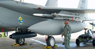 Legion Pod on F-15