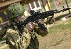 Parașutist rus din trupele de asalt aerian