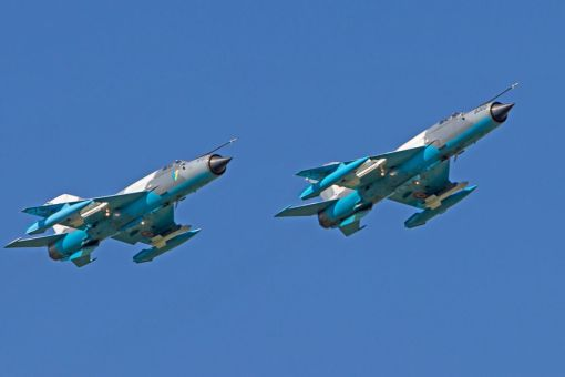 Celulă de avioane MiG-21 LanceR C - Baza 86 Aeriană Borcea, 2013 © (Cer Senin)