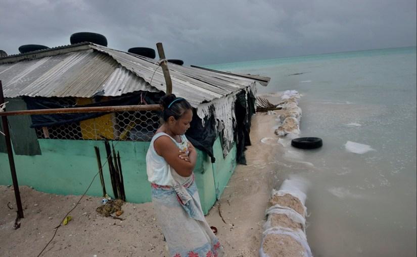Before Our Eyes: The sandbag walls of Kiribati