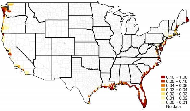 US Map SLR