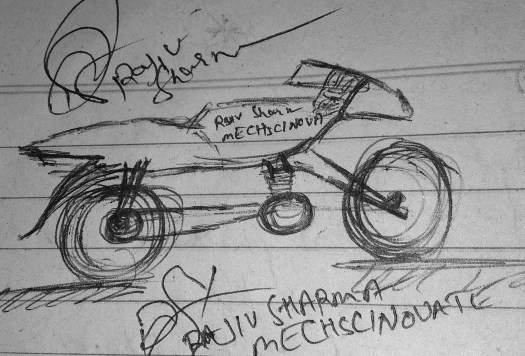 Rajiv, S, Creative- Design Bike.
