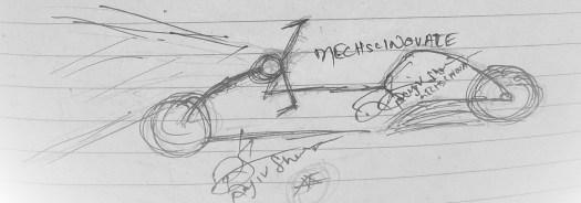 mECHsCINOVATE car draw step2