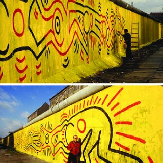 """Eseguita nel 1985, le sue opere su larga scala, come il albero della vita, segnano l'ascesa dell'artista alla """"grande epoca"""", le figure dominanti e festanti richiamano lo spirito gioioso dei primi giorni inebrianti, quando aveva appena sfondato nel mondo dell'arte come. Pdf Temporary Or Permanent The Duration Of Works Of Street Art Between Intentions And Techniques"""