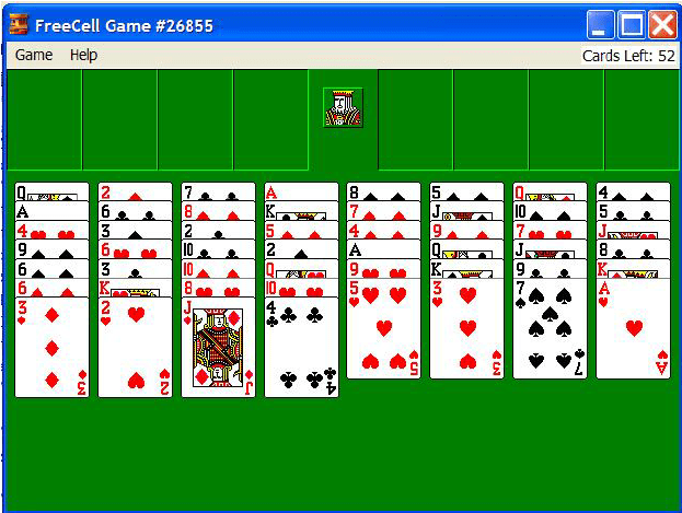 free cell card games solitaire infocardco