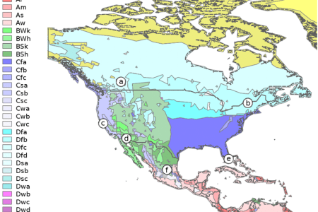 climate map of north america » Full HD MAPS Locations - Another ...