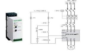Soft starter wiring diagram ATS01N125FT [7] 2) ATS22D47QSchneider soft | Download Scientific