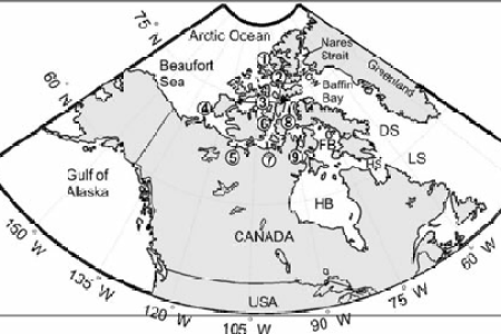 Davis strait canada map path decorations pictures full path canadian arctic sovereignty the canadian encyclopedia explorations of martin frobisher discover canada with these maps home schooling tis the only canada freerunsca Choice Image