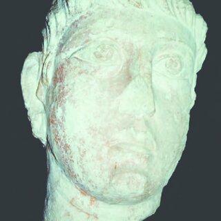 Sanctuary of Allat. Female funerary bust. Palmyra ...