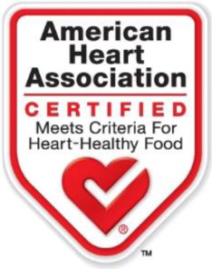 American Heart Association Heart-Check Mark front-of-pack symbol ...