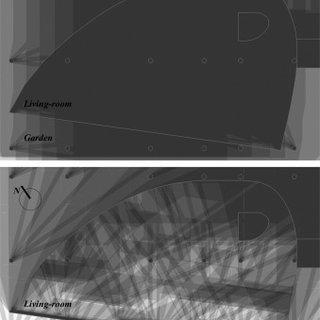 Cast Shadow Study Of The Ground Floor Villa Chupin On June 21st Top Download Scientific Diagram
