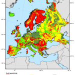 Potential Acid Sensitivity Of Surface Waters In Europe And The Three Download Scientific Diagram