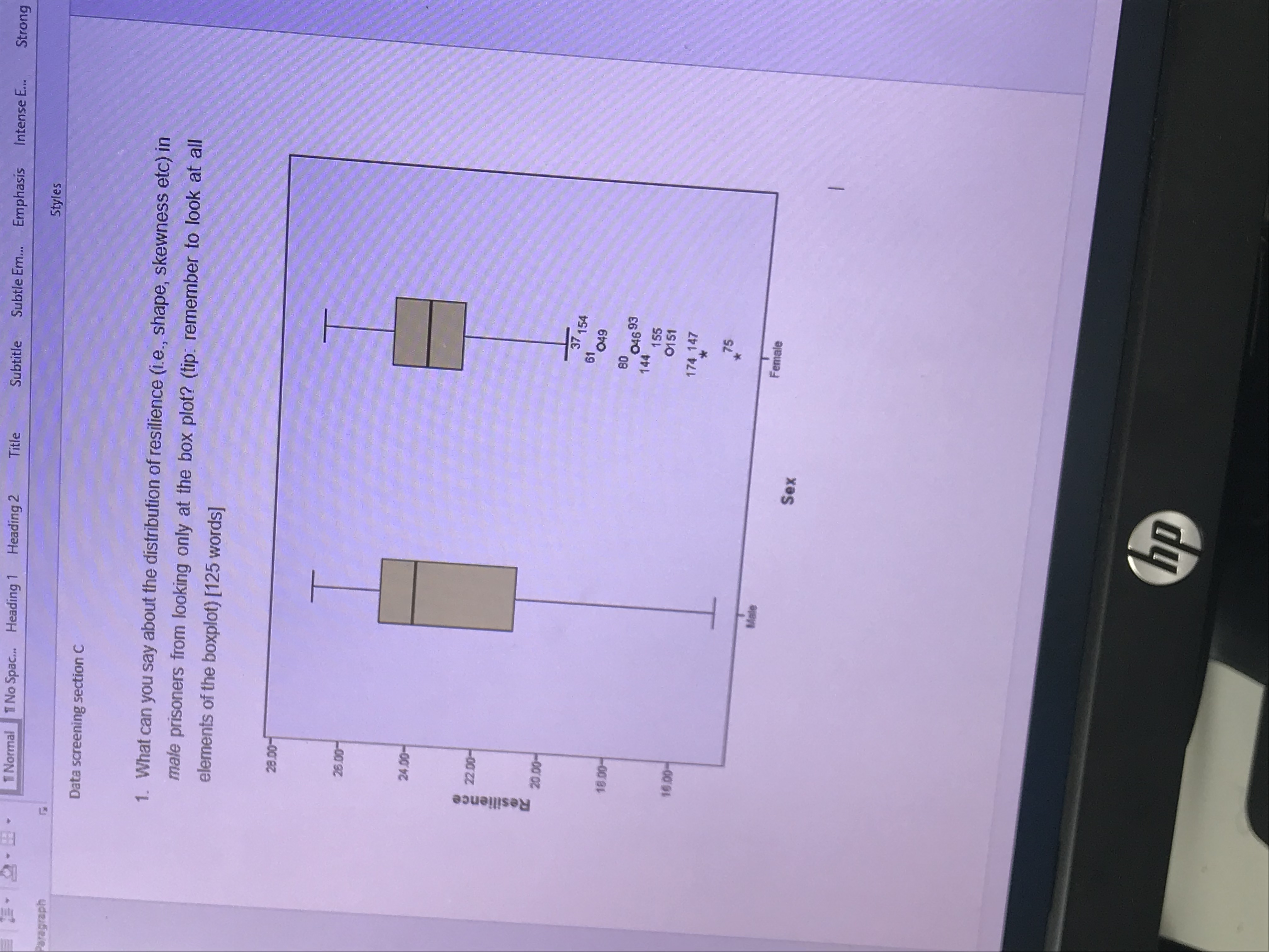73 Questions With Answers In Box Plot