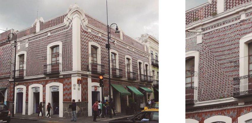 historic center of puebla mexico