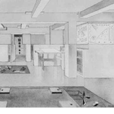 Perspective Of The Cohen Apartment From Living Room Toward Study And Download Scientific Diagram