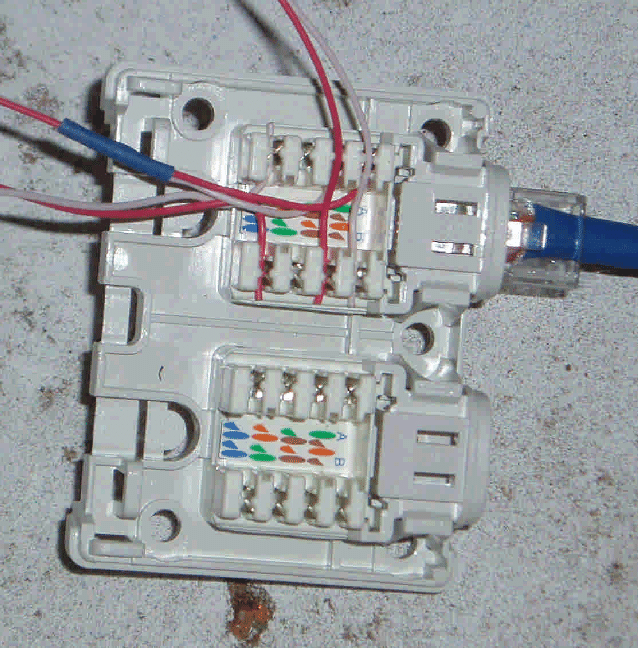 wiring diagram for krone rj45 socket  navistar 13 liter