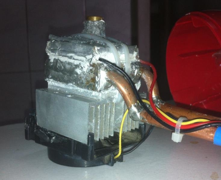 peltier thermoelectric module