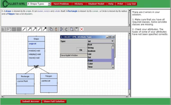 Single-user version of COLLECT-UML interface | Download ...