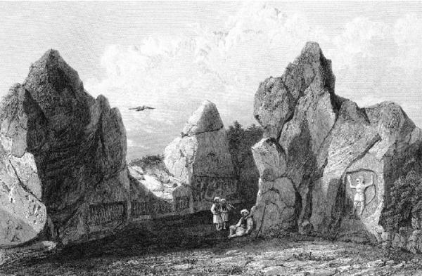 Yazılıkaya, Hittite open-air rock-cut sanctuary near ...