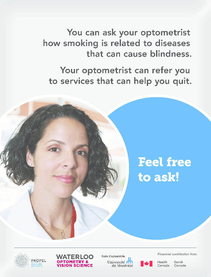 poster for optometry clinic