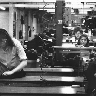 Image result for 1975 factory women