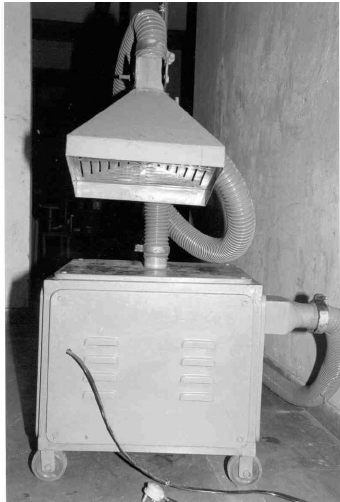 mobile local exhaust ventilation system
