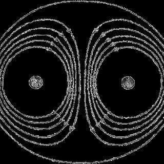 Figure 4. Helmholtz's atom model should be applied to electron vortex