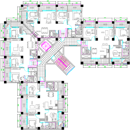 Floor Plans Of The Apartment Building